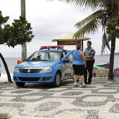 Empréstimo federal será usado para reforçar o efetivo policial na cidade Foto: Marcelo Piu / Agência O Globo