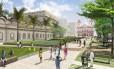 Projeto de revitalização do Centro do Rio - Esplanada candelária