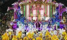 Desfile da Mangueira durante carnaval deste ano na Sapucaí. Foto: 02/2016 Foto: Alexandre Cassiano / Agência O Globo
