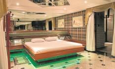 Um dos quartos do Motel Te Adoro, em Vila Isabel, preparado para receber turistas: taxa de ocupação chega a 85% durante a Olimpíada Foto: Divulgação/Filipe Reis