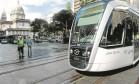 VLT no Centro: sistema faz parte de mapa oficial com todo o transporte público da cidade interligado Foto: Thiago Freitas/5-6-2016