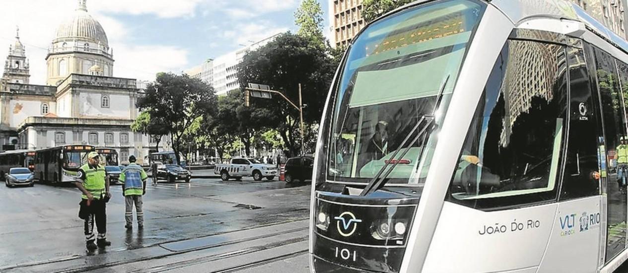 VLT no Centro do Rio de Janeiro Foto: Thiago Freitas/5-6-2016