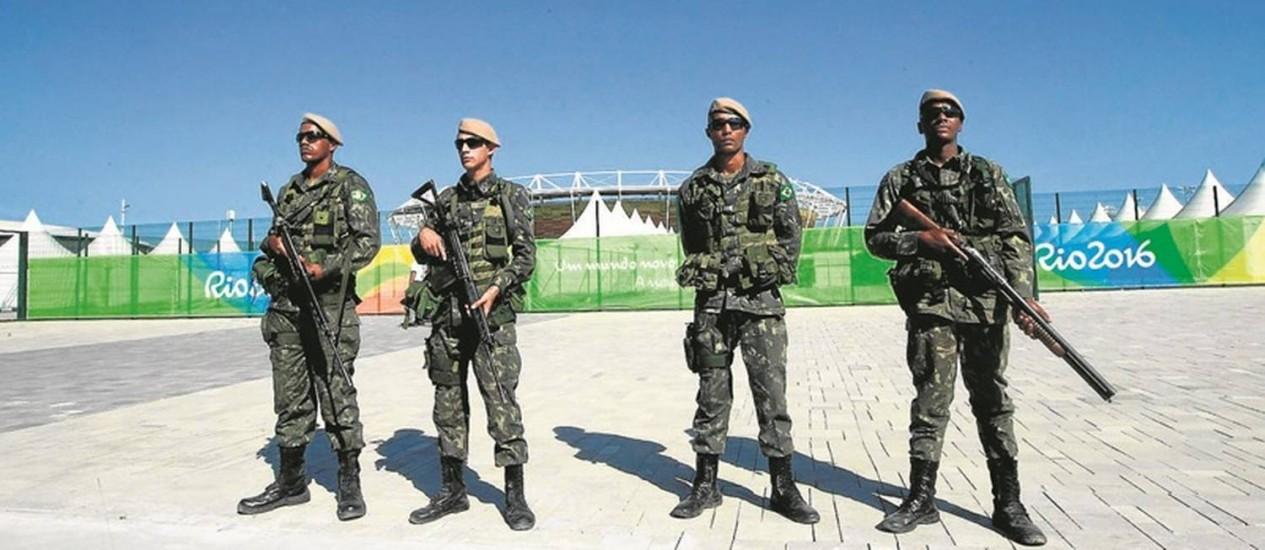 Setores do governo estadual planejam levar ao Palácio do Planalto uma proposta nacional de socorro para a área de segurança Foto: Urbano Erbiste - 24/07/2016 / Agência O Globo