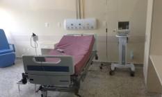 Suíte de luxo do hospital Miguel Couto que será inaugurada para as Olimpíadas Foto: MP/Divulgação
