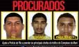 Cartaz estampa rosto de criminosos do Complexo da Maré