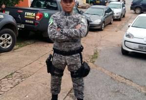 Soldado foi baleado no Complexo da Maré Foto: Reprodução