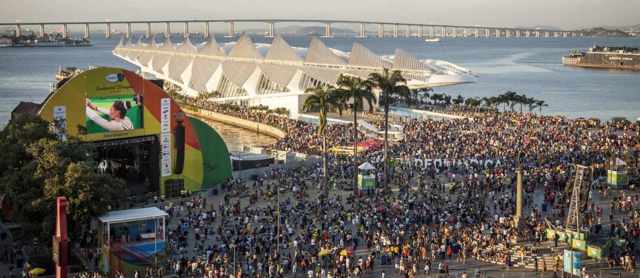 Segundo dados, a cidade recebeu mais americanos: 18,2% Foto: Hermes de Paula / Agência O Globo