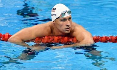 O nadador americano Ryan Lochte Foto: AP Photo/Martin Meissner