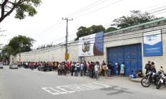 Entrada do Departamento Geral de Ações Socioeducativas (Degase) Foto: Thiago Freitas/Extra / Agência O Globo