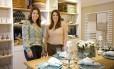 Cristina Gomes e Márcia Rodrigues apresentam loja Foto: Mônica Imbuzeiro / Agência O Globo