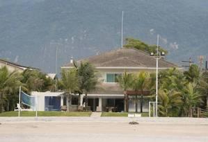 Casa de Cabral localizada no condominio Porto Bello, na Praia de São Braz, em Mangaratiba Foto: Pablo Jacob / O Globo