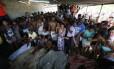 Moradores encontraram corpos na mata próxima ao Karatê