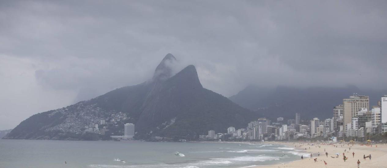 Previsão é de chuva e céu nublado ao longo da semana Foto: Márcia Foletto - 23/11/2016 / Agência O Globo