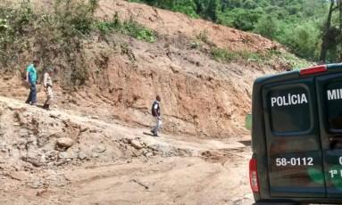Área desmatada foi encontrada na Taquara Foto: Divulgação/ Linha Verde
