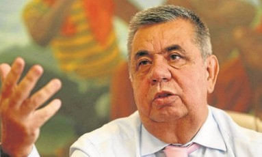 O presidente da Assembleia Legislativa (Alerj), Jorge Picciani Foto: Marcelo Carnaval
