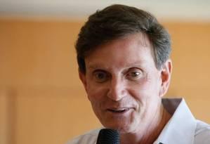 O prefeito do Rio, Marcello Crivella Foto: Pablo Jacob / Agência O Globo