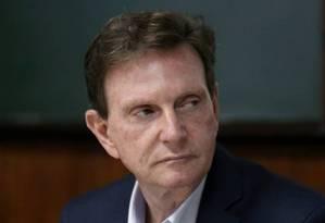 O prefeito do Rio, Marcelo Crivella Foto: Custódio Coimbra / Agência O Globo