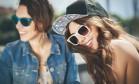 Óculos escuros devem ter película de proteção solar Foto: Divulgação