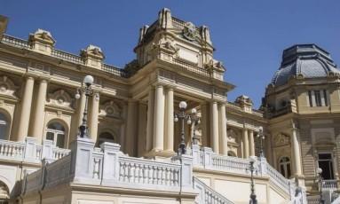 Palácio Guanabara, sede do governo do estado Foto: Ana Branco / Agência O Globo