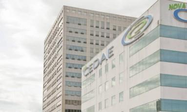 A sede da Cedae Foto: Adriana Lorete / Agência O Globo