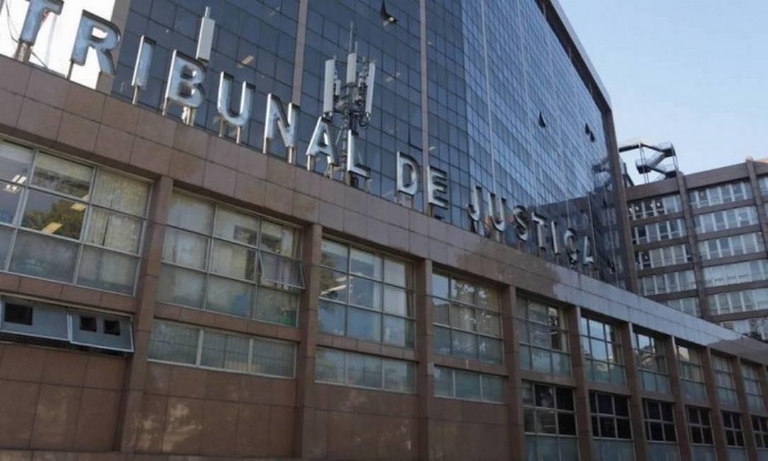 A sede do Tribunal de Justiça do Rio, no Centro Foto: Márcio Alves / Agência O Globo