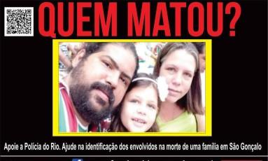 Portal oferece recompensa por informações que levem até assassinos Foto: Divulgação