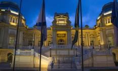 Fachada do Palácio Guanabara, sede do governo do Rio Foto: Alexandre Cassiano / Agência O Globo