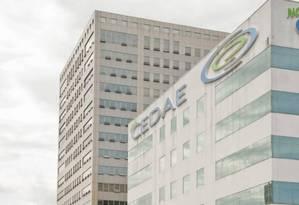 A sede da Cedae, na Cidade Nova Foto: Adriana Lorete