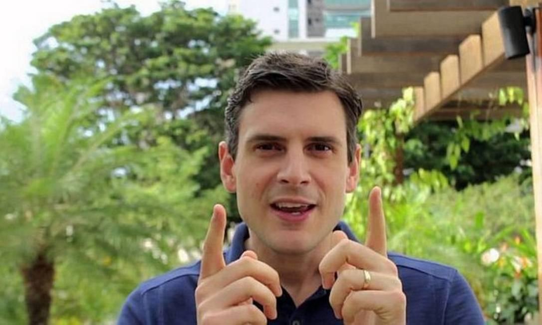 Marcelo Hodge, filho do prefeito do Rio, Marcelo Crivella Foto: Reprodução