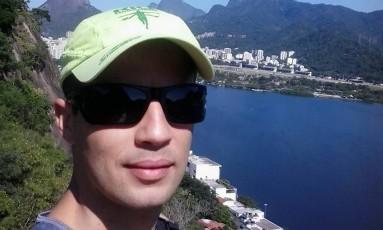 Gerson Fernandes desapareceu durante prova neste domingo Foto: Reprodução/Facebook
