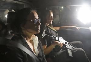 Adriana Ancelmo chegou em casa aos gritos de 'ladra' Foto: Marcelo Theobald / Agência O Globo