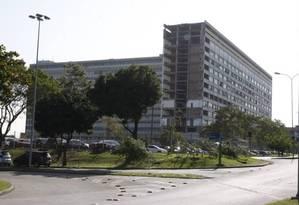 O campus da UFRJ, no Fundão Foto: Marcos Tristão / Agência O Globo