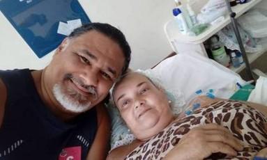 Paulo Guterres e sua esposa, Elizabeth Ferreira Jofre Foto: Reprodução/Facebook