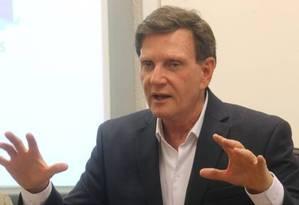 O prefeito do Rio, Marcelo Crivella Foto: Guilherme Pinto / Agência O Globo