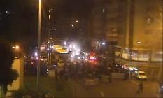 Grupo segue pelo Boulevard 28 de Setembro, na altura da Rua São Francisco Xavier Foto: Reprodução / COR