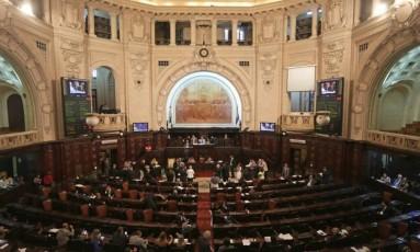 Plenário da Alerj Foto: Márcio Alves / Agência O Globo