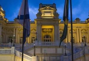 Palácio Guanabara, sede do governo, em Laranjeiras Foto: Alexandre Cassiano / Agência O Globo