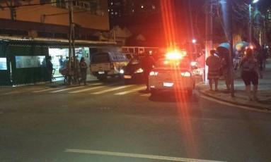 PM prendeu um criminoso em perseguição Foto: Reprodução/Facebook
