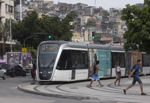 Vizinha da Central do Brasil e do Terminal Américo Fontenelle, a nova estação deve ser responsável pelo aumento no número de usuários do sistema Foto: Márcia Foletto / Agência O Globo