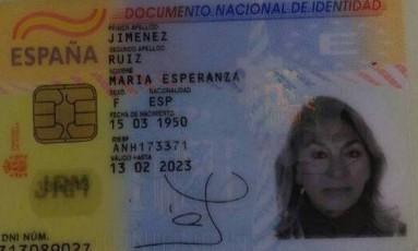 Maria Esperanza morreu após ser baleada pela PM Foto: Reprodução