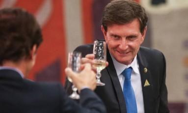 O prefeito do Rio de Janeiro, Marcelo Crivella Foto: André Coelho / Agência O Globo
