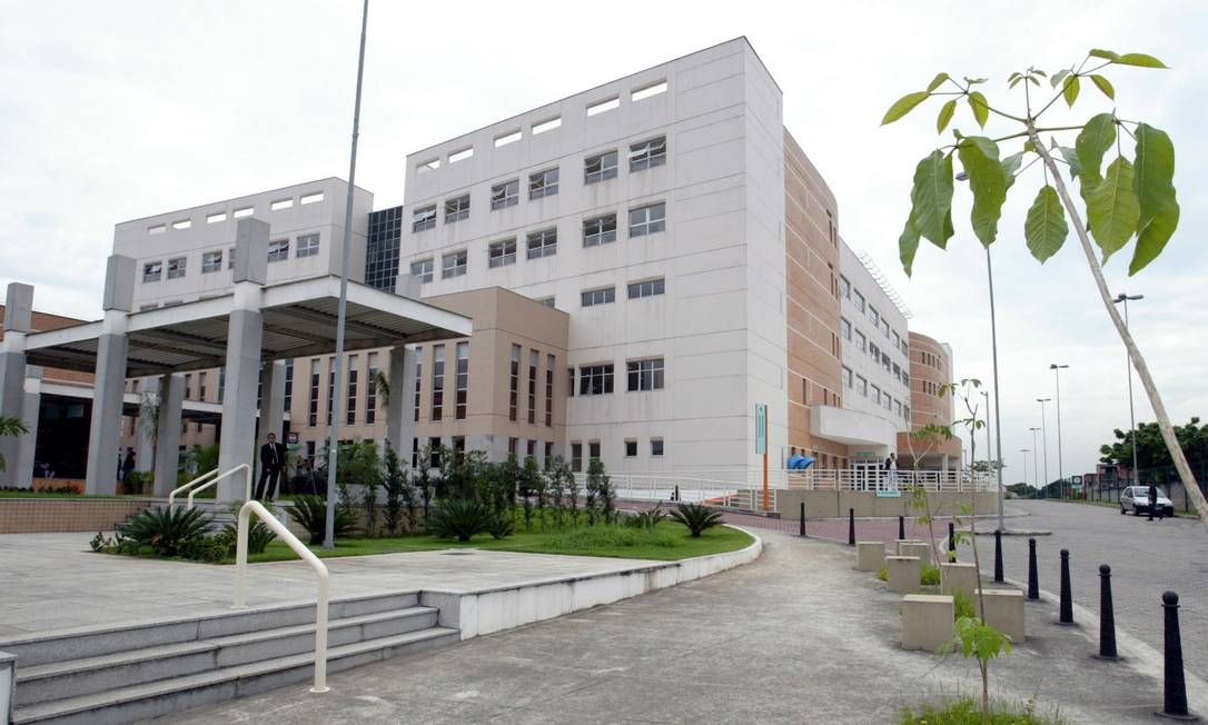 A fachada do Hospital municipal Ronaldo Gazolla, em Acari Foto: Hipólito Pereira