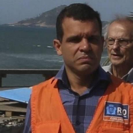 O agora ex-presidente da Comlurb, Rubens Teixeira Foto: Fabiano Rocha / Agência O Globo