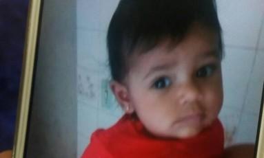Maria Louise, bebê de oito meses morta em acidente Foto: Arquivo Pessoal