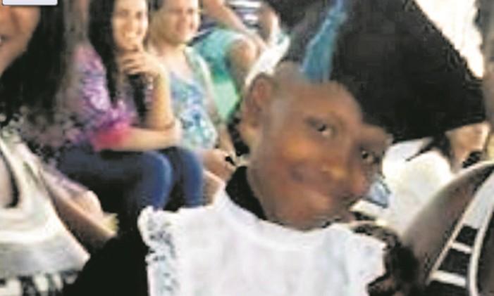 Jeremias. Aos 13 anos, baleado enquanto jogava bola Foto: Reprodução