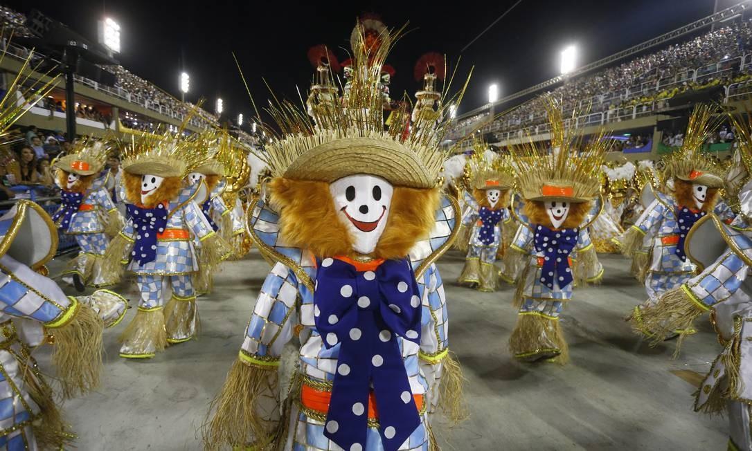 """Enredo leva enredo """"Brasil bom de boca"""" à Sapucaí; de acordo com o carnavalesco, Severo Luzardo, a ideia é abordar todos os aspectos da nossa cultura alimentar Domingos Peixoto / Agência O Globo"""