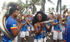 Banda de Ipanema sai em cortejo nesta terça-feira Foto: Fernanda Dias
