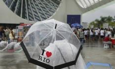 Previsão é de chuva Foto: ANTONIO SCORZA / Agência O Globo