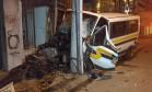 Acidente com van, em São Cristóvão Foto: Divulgação / Renato Souza