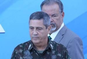 O general Braga Netto, interventor na segurança do Rio Foto: Ailton Freitas / Agência O Globo